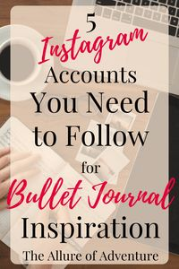5 Instagram Accounts You Need to Follow for Bullet…Edit description