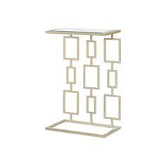 Hammary Furniture - High Point, NC - HIDDEN TREASURES :: RECTANGULAR PATTERN SIDE TABLE