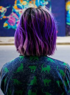 The Coolest Purple Hair In The World (Seriously)+#refinery29