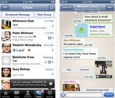 Download Whatsapp messenger for iPhone,iPad and iPodtouch Free......