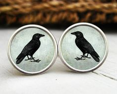 Raven Cuff Links - YES!!