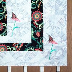 Reversible Placemats with Monarch Butterfly by seablossomdesign,