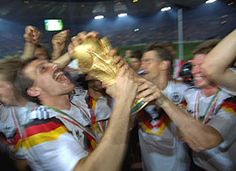 World Cup winners Germany 1990