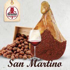 A San Martino castagne e vino...e salumi aggiungiamo noi! Lo sapete che prosciutto, speck e pancetta stanno benissimo con le castagne? Anche per condire un primo autunnale #renzini
