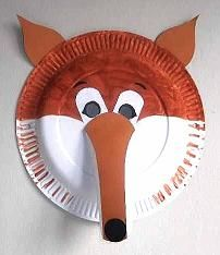 Crafting animal paper plate masks is an ideal group project for young children to interact together and have fun making them. & Crafting animal paper plate masks is an ideal group project for ...