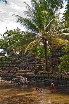 Nan Madol, Pohnpei, Micronesia Vanuatu, Tonga, Papua Nova Guiné, Fiji, Wake Island, Federated States Of Micronesia, Polynesian Islands, World Travel Guide, Adventure Of The Seas
