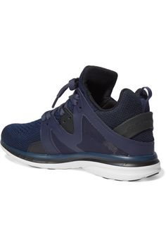 APL Athletic Propulsion Labs - Ascend Techloom Mesh Sneakers - Midnight blue