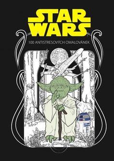 Star Wars - 100 antistresových omalovánek – Knihkupectví Neoluxor