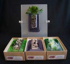 Wall Vases - Fused Glass Art