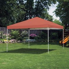 Shelterlogic 12 x 12 Straight Leg Pro Series Pop Up Canopy Terracotta - 22742 & 10u0027 x 20u0027 White All Purpose Canopy Tent Shade Shelter For Camping ...