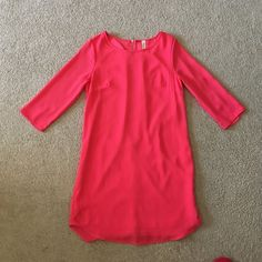 Pink Boutique dress size small Dress has never been worn. Bought from a boutique in Louisville. Accidentally bought the wrong size and couldn't return!  Price Firm! Dresses