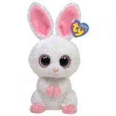 6 Inch 2019 NEW MWMT ~ IN HAND Ty Beanie Boos ~ BLOOMY the Easter Bunny Rabbit