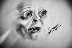 Smeagol  Pencil on paper