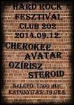 Szeptember 12-én négy remek banda vár mindenkit szeretettel a Fehérvári út 202-ben, egy ütős Hard Rock Fesztiválra. A bulit a Steroid zenekar kezdi, ők tavaly novemberben adták ki a Még… névre keresztelt nagylemezüket, szerzői kiadásban.