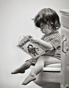Bathroom reading is for all ages!