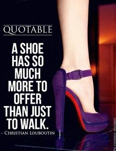 ... but the perfect walk needs to be paired with a perfect shoe