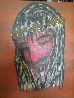 Cristo,acrilic  on canvas