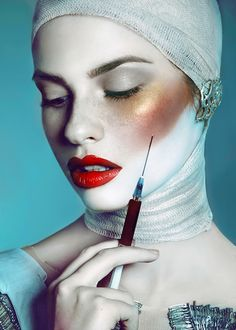 Shelter of beauty on behance beauty photography, artistic make up, receptio Beauty Tips For Teens, Beauty Hacks Video, Beauty Make Up, Beauty Makeup Photography, Jewelry Photography, Dark Lipstick Makeup, Shooting Studio, Urban Look, Beauty Shoot