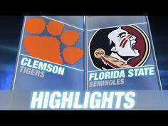 GAME 3: Clemson vs. Florida State | 2014 ACC Football Highlights | [Tallahassee, FL] Sept. 20, 2014 | Clemson-17 FSU-23
