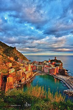 Just another Vernazza picture.  This one one of my favorite stops on our honeymoon.  Swimming in the harbor, eating pizza on the sea wall, hiking to the castle and other villages, watching the sunset, and watching kids do cartwheels on the tiny sandy beach.  It was pretty much perfect.