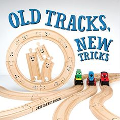 A list of temporary alternatives to gluing wooden train tracks to a train table. Train Activities, Activities For Kids, Rhyming Activities, Surfboard Craft, Pom Pom Tree, Christmas Crafts For Adults, Christmas Paper, Christmas 2017, Christmas Trees