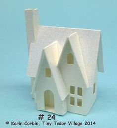 Glitter Houses: Tiny Tudor Village 2014 Instructions