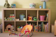 Love the colors and organization and lack of plastic toys