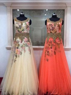 Women Clothing No 19 Traditional Dresses Designs, Traditional Outfits, Ethnic Wear Designer, Designer Gowns, Glamorous Dresses, Lovely Dresses, Indian Gowns, Indian Outfits, Indian Wear