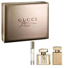 Gucci Premiere 3 Piece Gift Set for Women 2.5 oz. EDP Spray, 3.3 oz. Perfumed Body Lotion, 0.25 oz. EDP Spray $89.99 #topseller