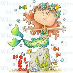 LOVE LOVE LOVE Miss Milly Mermaid