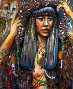 The owl's spirit- Leo-vinh- 2015
