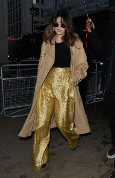 Selena Gomez Leaves BBC Radio Studios in London 12/11/2019. #selenagomez  #selenagomezstyle #celebrity #fashion #clothing #closet #celebrityfashion #celebritystyle #celebritystreetstyle #streetfashion #streetstyle