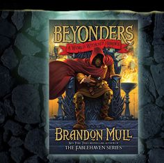 My 9 year old likes to leave books next to my bed that he thinks are 'must read'. Brandon Mull never lets me down!