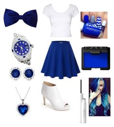 """""""Blue And White"""" by max16flawless ❤ liked on Polyvore"""