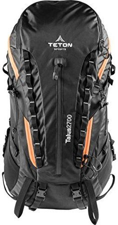 TETON Sports Talus 2700 Backpack Ultralight Backpacking Gear Hiking Backpack for Camping Hunting Mountaineering and Outdoor Sports Free Rain Cover Included * Check this awesome product by going to the link at the image. (This is an affiliate link) #CampingHikingBackpacks