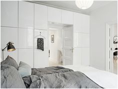 IKEA BESTÅ: create a room un a loft useing a huge bookcase as a separating wall.