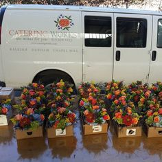 On the way to The Rickhouse #Flowers #cateringworks #corporateevents