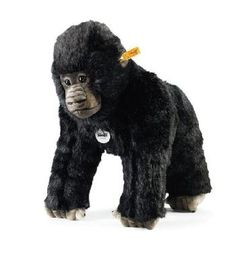 Steiff Goran Gorilla Monkey EAN 062131 http://www.sunny-bears.com/inv/steiff/goran-gorilla-monkey-ean-062131.php