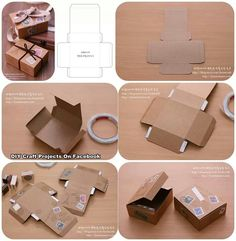 Bigabaga do it yourself paper bag made from recycled piece of box pattern diy solutioingenieria Images