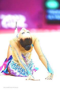 Ulyana Trofimova in her gorgeous costume.