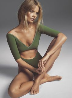Marie Claire UK May 2015 Marloes Horst by Jonas Bresnan #Style