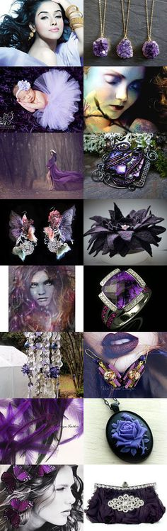 Perfectly Purple by Sonja Brekhus on Etsy--Pinned with TreasuryPin.com
