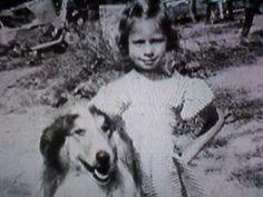 Barbra Streisand age 6.