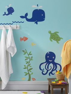Under the Sea wall decor decals
