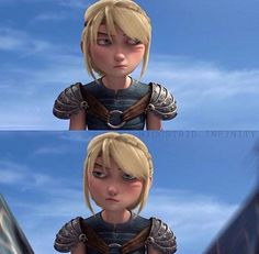 This. THIS look RIGHT here! XD I'm pretty sure Astrid is me 99% of the time. X3