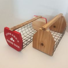 Wire Egg Basket, Wire Baskets, Antique Wood Stove, How To Antique Wood, Rustic Table, Rustic Wood, Chickens In The Winter, Harvest Basket, Dining Room Hutch