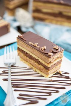 While making Opera Cake from scratch will have you spend a hefty chunk of time in the kitchen, I swear it's so decadent, it's totally worth the effort.