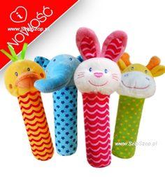 Zabawki dla niemowląt piszczki w SzipSzop.pl - świetne do wózka, łóżeczka czy fotelika samochodowego- zajmują malucha, uczą świata, bawią:) Polecamy!  https://www.szipszop.pl/Zabawki/dzieciece_niemowlece.html
