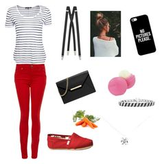 """""""Louis Tomlinson style"""" by sopluvesonedirection ❤ liked on Polyvore featuring Casetify, Yves Saint Laurent, rag & bone, Paige Denim, MICHAEL Michael Kors, Eos, TOMS and Tiffany & Co."""