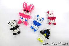 Rainbow loom - animal charms